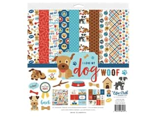 Echo Park Collection I Love My Dog Collection Kit 12 in. x 12 in.