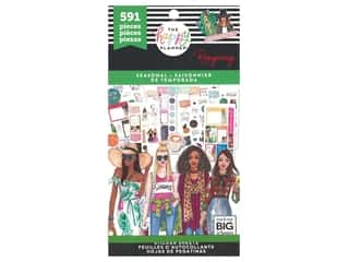 Me&My Big Ideas Happy Planner RongRong Sticker Value Pack Seasonal