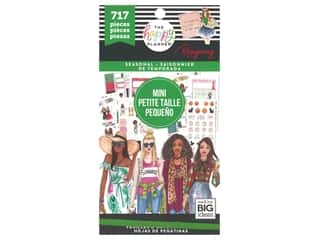 Me&My Big Ideas Happy Planner RongRong Sticker Value Pack Mini Seasonal