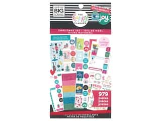 Me&My Big Ideas Happy Planner Sticker Classic Value Pack Christmas Joy