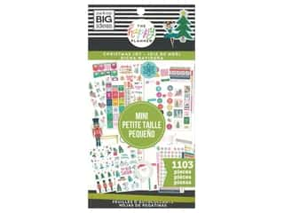 decorative bird: Me&My Big Ideas Happy Planner Sticker Mini Value Pack Christmas Joy