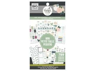 Me&My Big Ideas Happy Planner Sticker Mini Value Pack Homebody