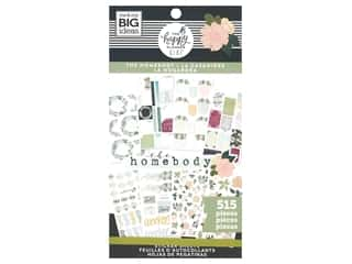 Me&My Big Ideas Happy Planner Sticker Classic Value Pack Homebody