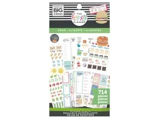 Me&My Big Ideas Happy Planner Sticker Classic Value Pack Yum