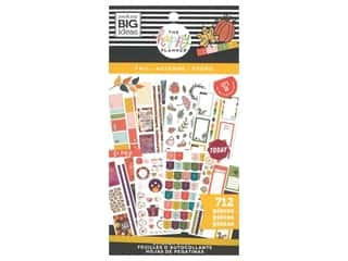 scrapbooking & paper crafts: Me&My Big Ideas Happy Planner Sticker Classic Value Pack Fall