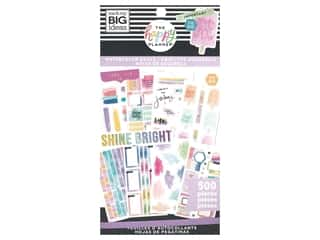Me&My Big Ideas Happy Planner Sticker Classic Value Pack Watercolor Goals