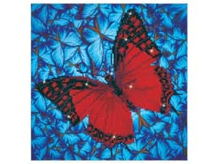 beading & jewelry making supplies: Diamond Dotz Facet Art Kit Intermediate Flutter By Red