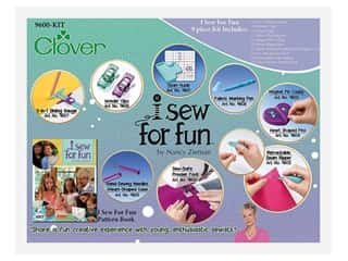 books & patterns: Clover I Sew For Fun Kit