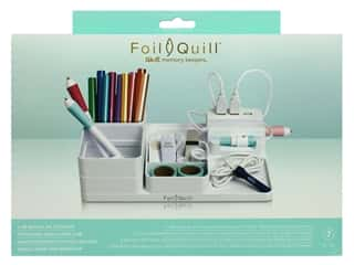 storage : We R Memory Collection Foil Quill USB Modular Storage