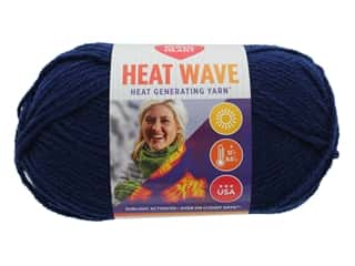 Red Heart Heat Wave Yarn 198 yd. #0888 Ocean (3 skeins)