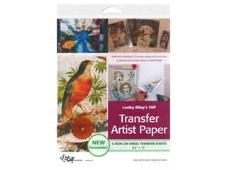 scrapbooking & paper crafts: C&T Publishing Lesley Riley's TAP Transfer Artist Paper 8 1/2 x 11 in. 5 pc.