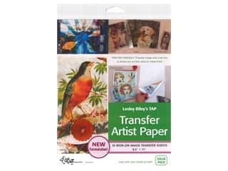 scrapbooking & paper crafts: C&T Publishing Transfer Artist Paper Iron On Image Sheet 18 pc