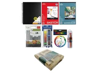Art Advantage Art Set Deluxe Watercolor Essentials Value Pack