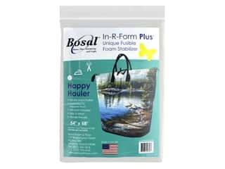 "Bosal In R Form Foam Stabilizer Plus Fusible Double Side 54""x 58"" Happy Hauler"