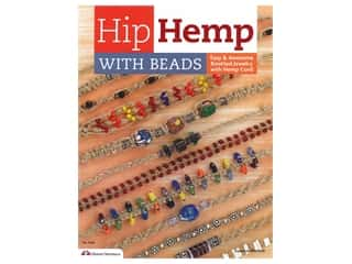 books & patterns: Design Originals Hip Hemp With Beads Book