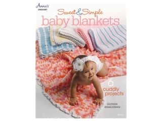 books & patterns: Annie's Crochet Sweet And Simple Baby Blankets Book