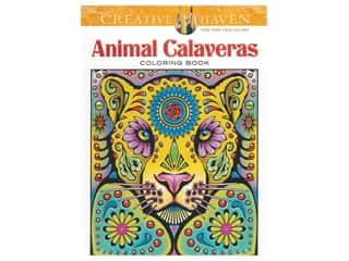 Dover Publications Creative Haven Animal Calaveras Coloring Book