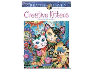 Dover Publications Creative Haven Creative Kittens Coloring Book