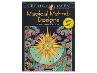 books & patterns: Dover Publications Creative Haven Magical Mehndi Designs Coloring Book