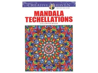 books & patterns: Dover Publications Creative Haven Mandala Techellations Coloring Book