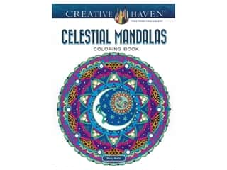 Dover Publications Creative Haven Celestial Mandalas Coloring Book