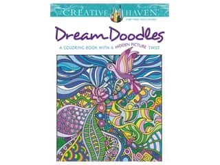books & patterns: Dover Publications Creative Haven Dream Doodles Coloring Book