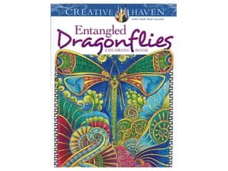 books & patterns: Dover Publications Creative Haven Entangled Dragonflies Coloring Book