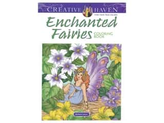 books & patterns: Dover Publications Creative Haven Enchanted Fairies Coloring Book