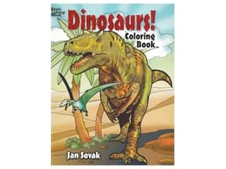 books & patterns: Dover Publications Dinosaurs! Coloring Book