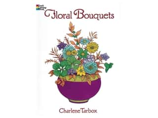 books & patterns: Dover Publications Floral Bouquets Coloring Book