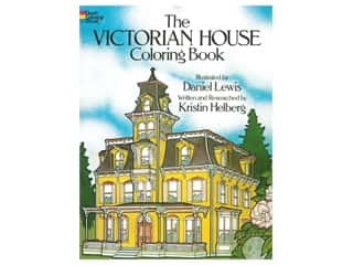 books & patterns: Dover Publications Victorian House Coloring Book