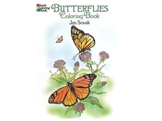 books & patterns: Dover Publications Butterflies Coloring Book