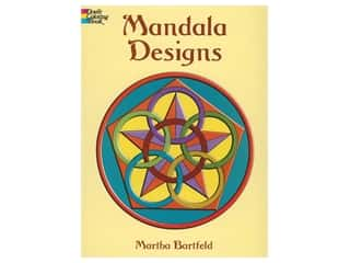 Dover Publications Mandala Designs Coloring Book
