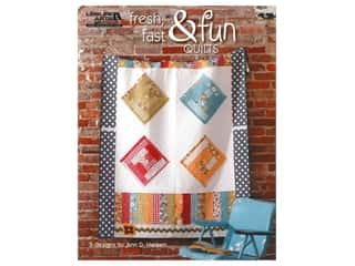 books & patterns: Leisure Arts Fresh, Fast & Fun Quilts Book