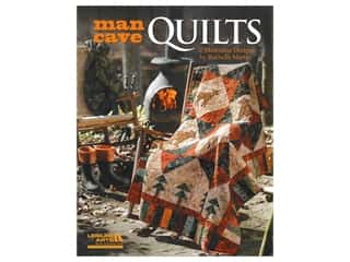 books & patterns: Leisure Arts Man Cave Quilts Book
