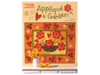 Leisure Arts Applique A Garden Book