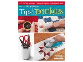 books & patterns: Leisure Arts Best of Fons & Porter Tips & Techniques Book