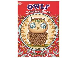 books & patterns: Dover Publications Owls Coloring Book