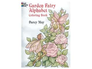 floral & garden: Dover Publications Garden Fairy Alphabet Coloring Book