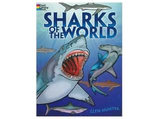 books & patterns: Dover Publications Sharks Of The World Coloring Book