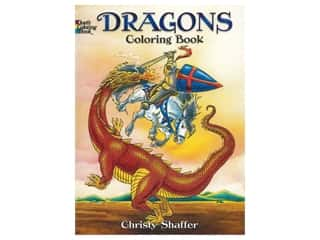 books & patterns: Dover Publications Dragons Coloring Book