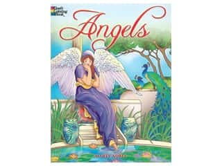 books & patterns: Dover Publications Angels Coloring Book