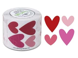 Doodlebug Sweet Things Sticker Roll Hearts