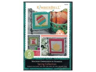 books & patterns: Kimberbell Designs Machine Embroider By Number Spring CD