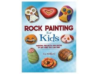 books & patterns: Racehorse Publishing Rock Painting For Kids Book
