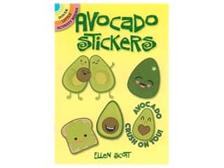 books & patterns: Dover Publications Little Avocado Stickers Book