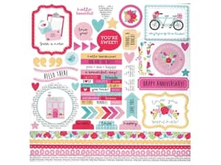 Doodlebug Collection Love Notes Sticker This & That Love Notes