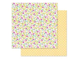 Doodlebug Collection Love Notes Paper 12 in. x 12 in. Love You Bunches (25 pieces)