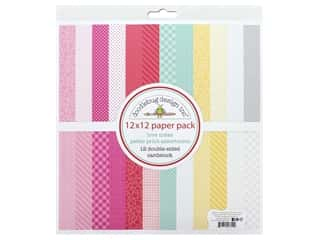 Doodlebug Collection Love Notes Paper Pack 12 in. x 12 in. Petite