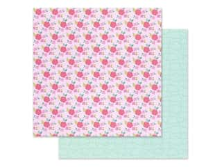 Doodlebug Collection Love Notes Paper 12 in. x 12 in. Rose Trellis (25 pieces)